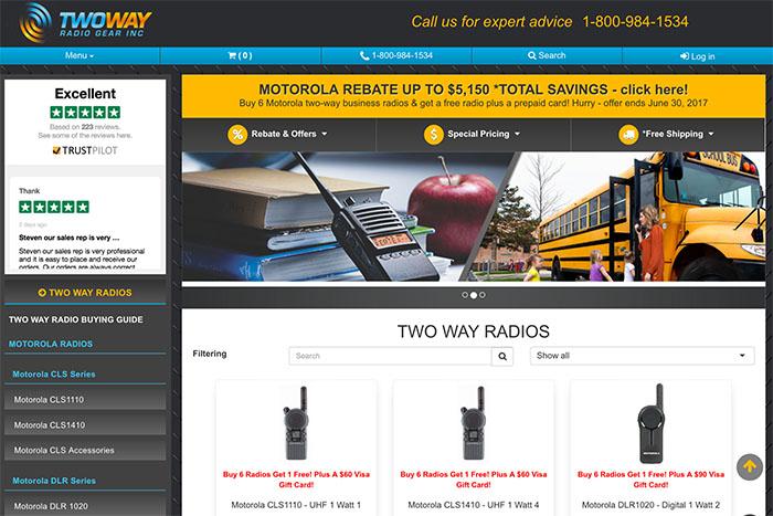 Lumino Web Design E-Commerce